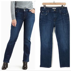 Levi's 505 Straight Jeans High Rise 12